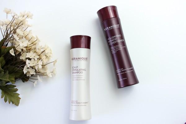 Keranique Scalp Stimulating Shampoo and Volumizing Keratin Conditioner