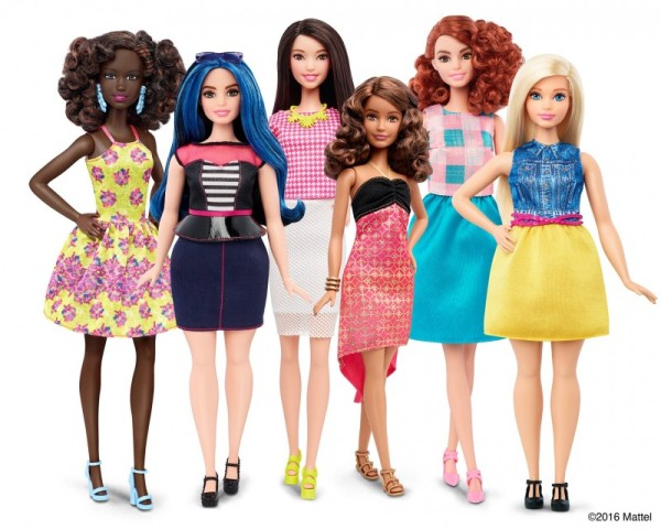 mattel-barbie-curvy-petite-tall group