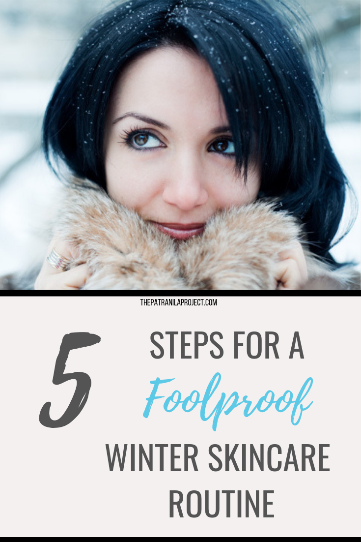 Winter skincare tips. Five steps to create a foolproof winter beauty regimen. Keep your skin ultra soft this winter. #winter #skincare