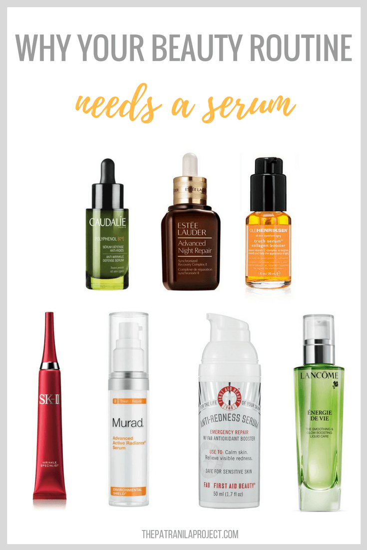 Why you need to add a serum to your daily beauty routine.