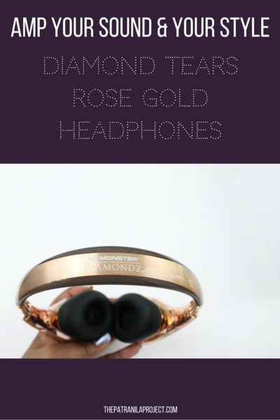 Diamond Tears Headphones by Monster amp your sound and your style!