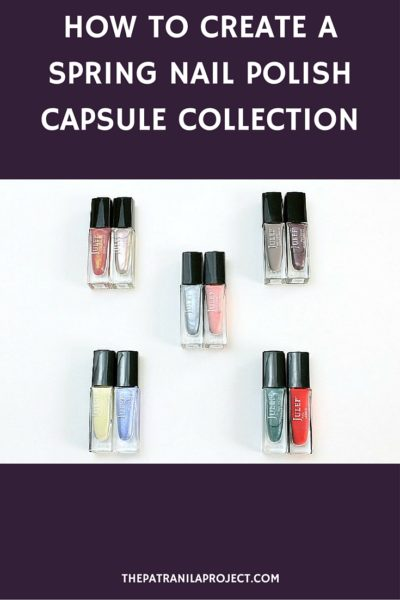 Create a gorgeous spring/summer nail polish capsule collection!
