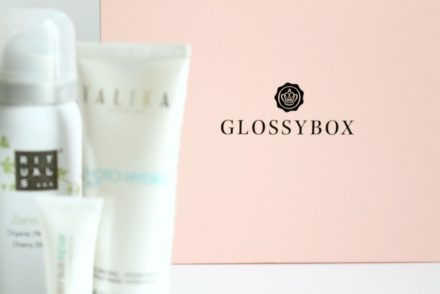 glossybox amayzing box unboxed