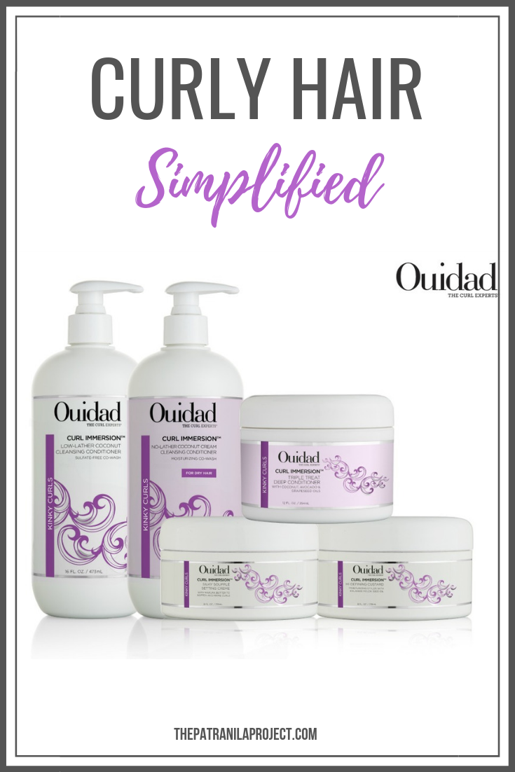 Ouidad Curl Immersion Kits are formulated for your specific curl pattern. #curlyhair #naturalhair #ouidad