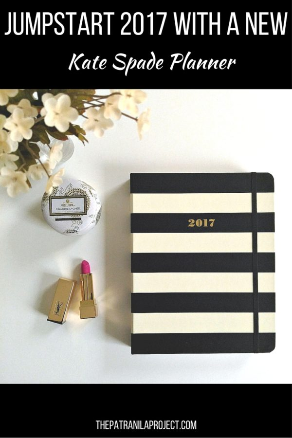 It'll be 2017 before you know. Get ready NOW with the new Kate Spade planner!