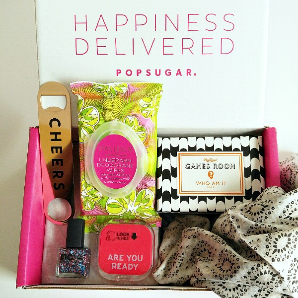 The Popsugar Must Have Box Delivers Happiness & Summertime Fun