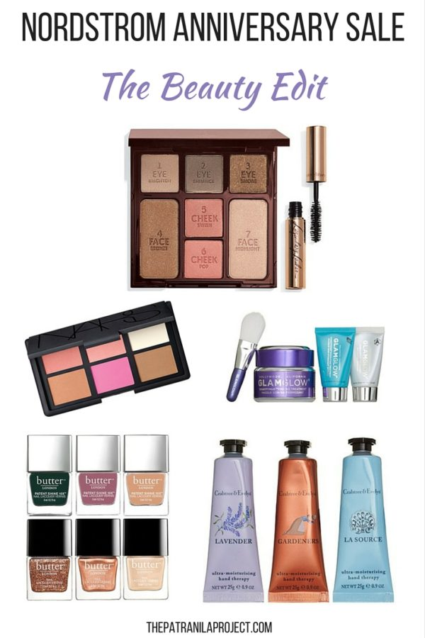 The Nordstrom Anniversary Sale 2016 - Beauty Edit #nsale