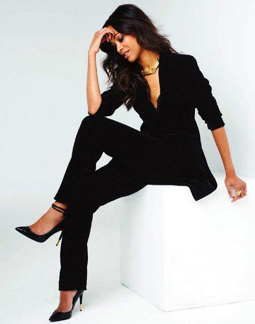 Zoe Saldana - Celebrity Style