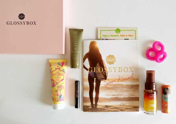 Glossybox August - Sun Kissed Summer