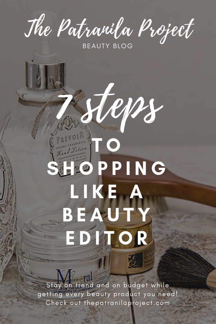 Shop like a beauty expert with these 7 tips. #makeup #skincare