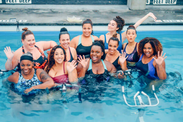 Body Positive Workout at Aqua Studio NY.