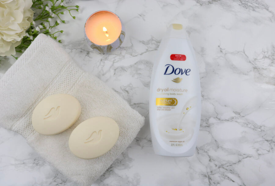 Say #ByeToDry Skin With Dove