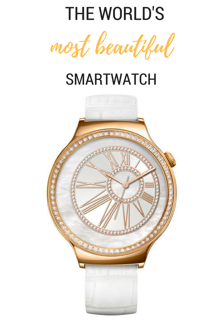 The Huawei Watch Jewel is simply the most beautiful smartwatch ever!
