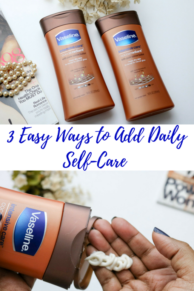 Easily add self-care to your daily routine with @VaselineUS CocoaRadiant!