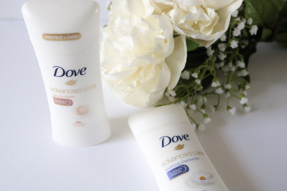 Trade Up With Dove Advanced Care Antiperspirant
