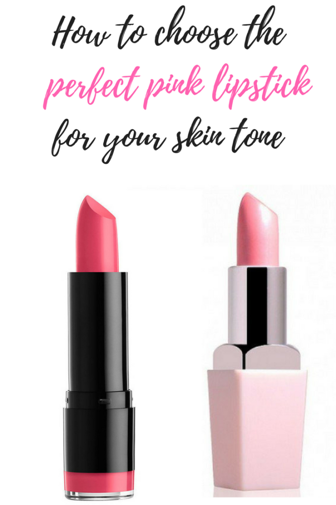 How to choose the perfect pink lipstick for your skin tone.