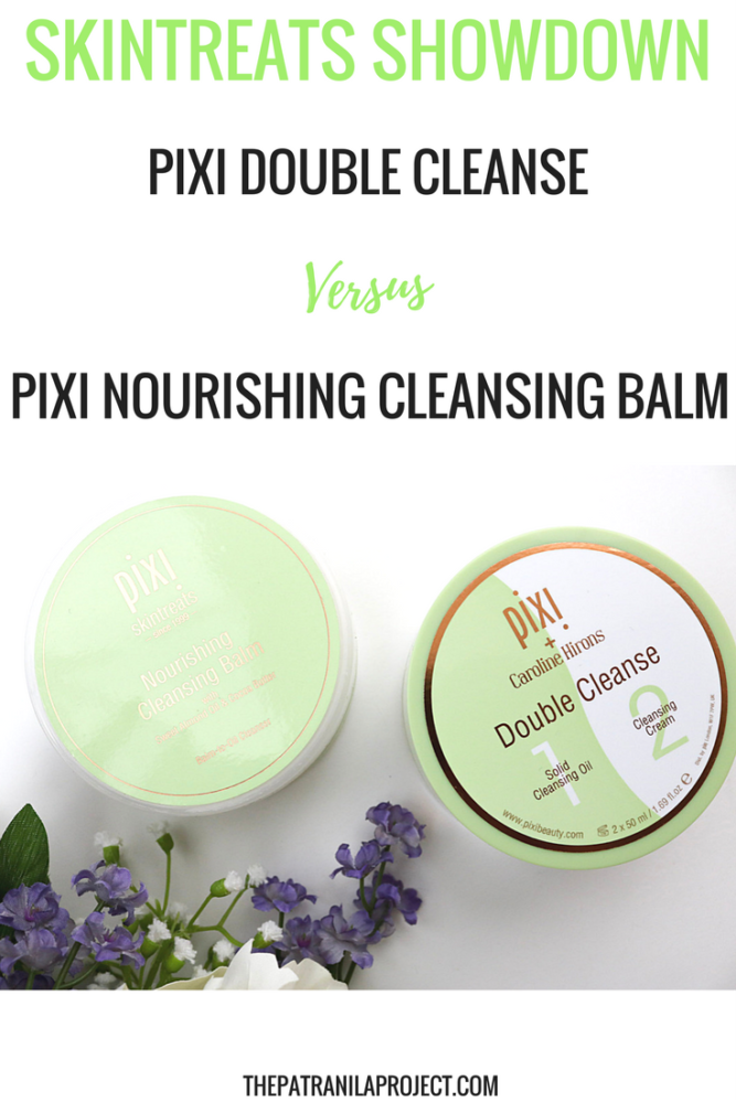 Ready for a Skintreats Showdown? Pixi Beauty Double Cleanse and Nourishing Cleansing Balm go head to head in this cleanser comparison. Which is better for your beauty routine?