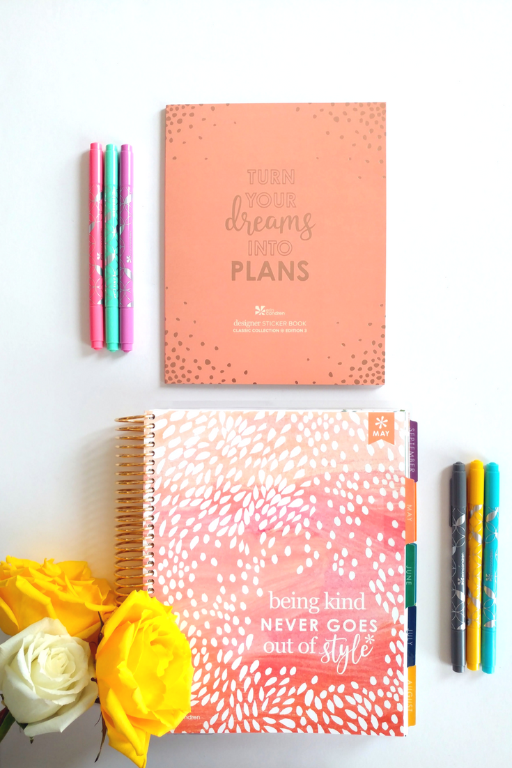 Kickstart your creativity with a new 2018 Erin Condren LifePlanner!