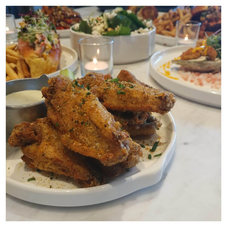 fried-chicken-wings-kitchen-21-brooklyn