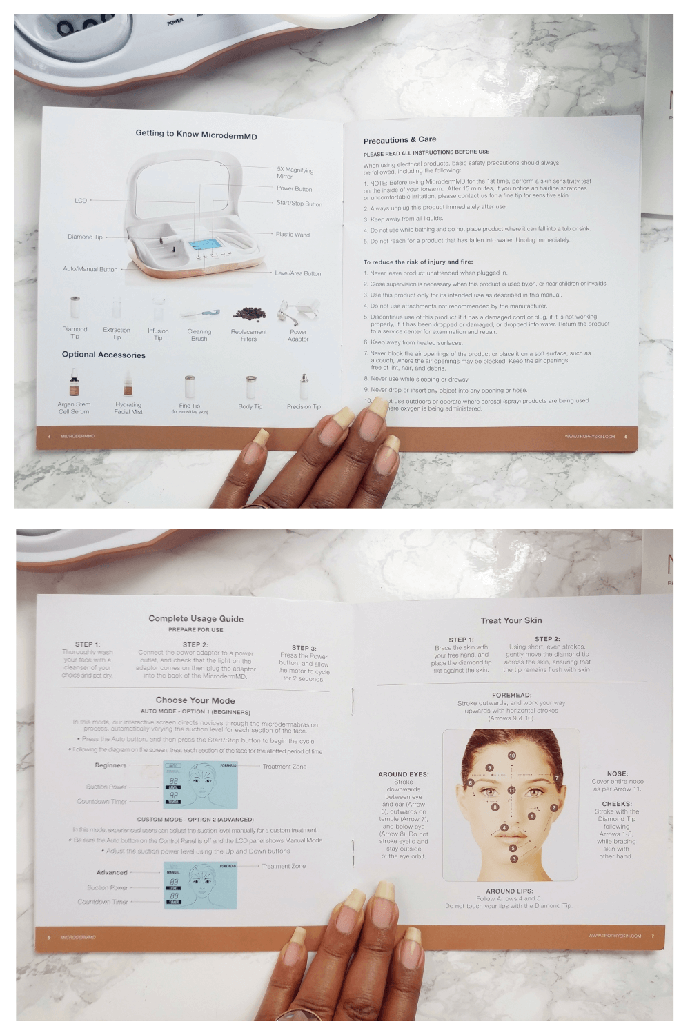 trophy-skin-dermabrasion-instructions