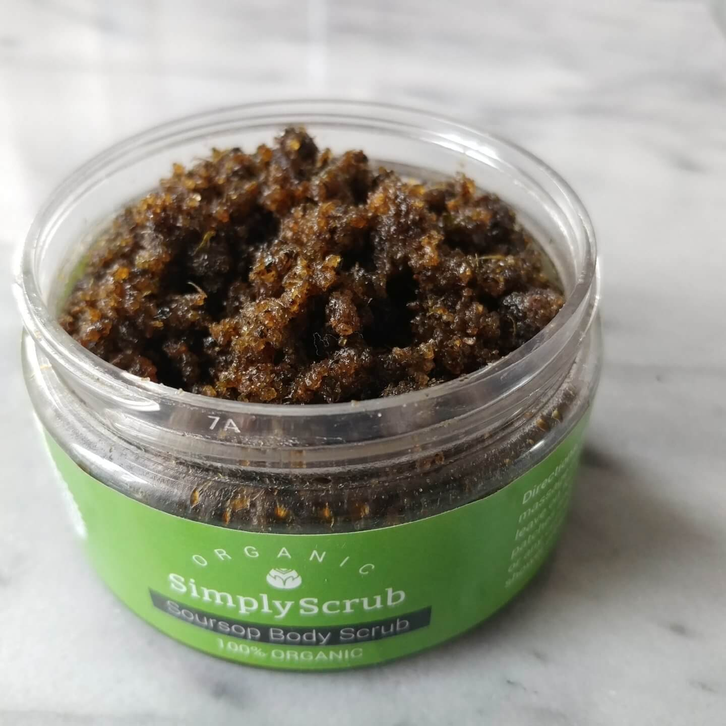 Go For The Big O! SimplyScrub Organic Body Scrub