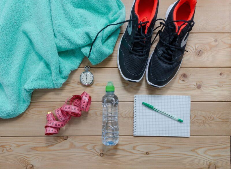 cold weather beauty routine - regular exercise