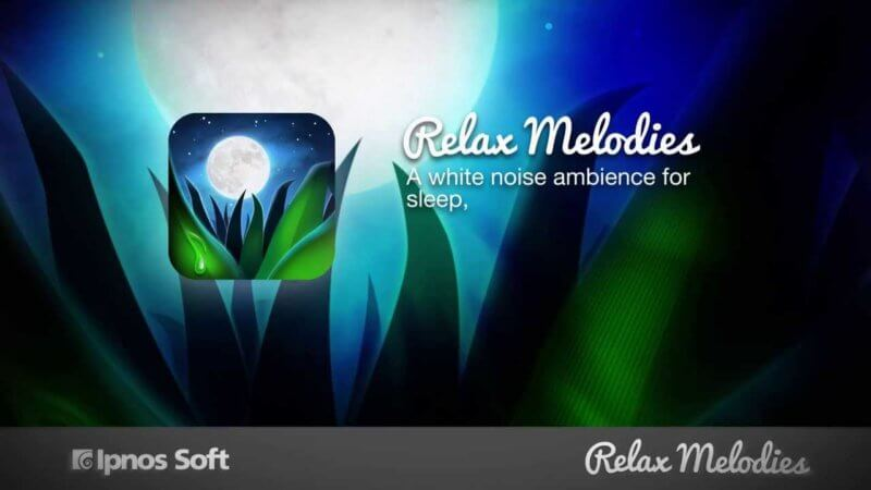 relax melodies white noise ambiance app for sleep