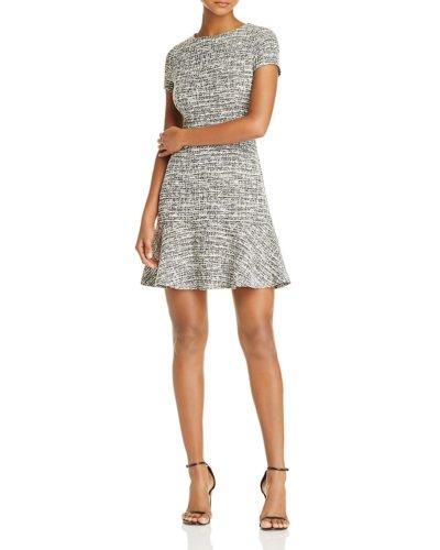 AQUA Tweed Dress