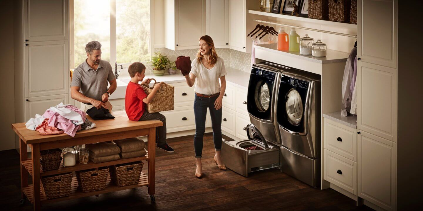 Laundry Room Goals: The LG Twin Wash System Brings Me Joy!