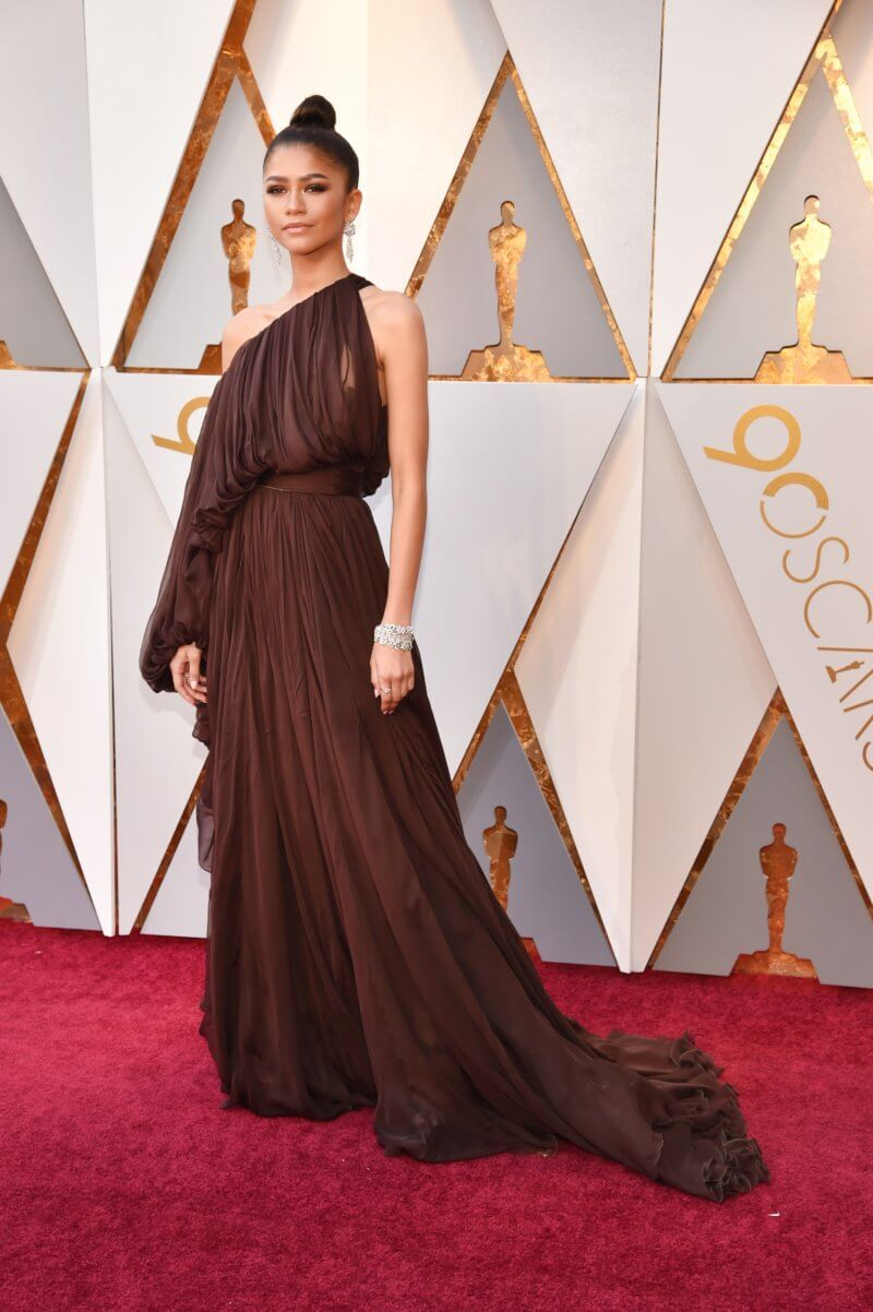 zendaya 2018 oscars red carpet