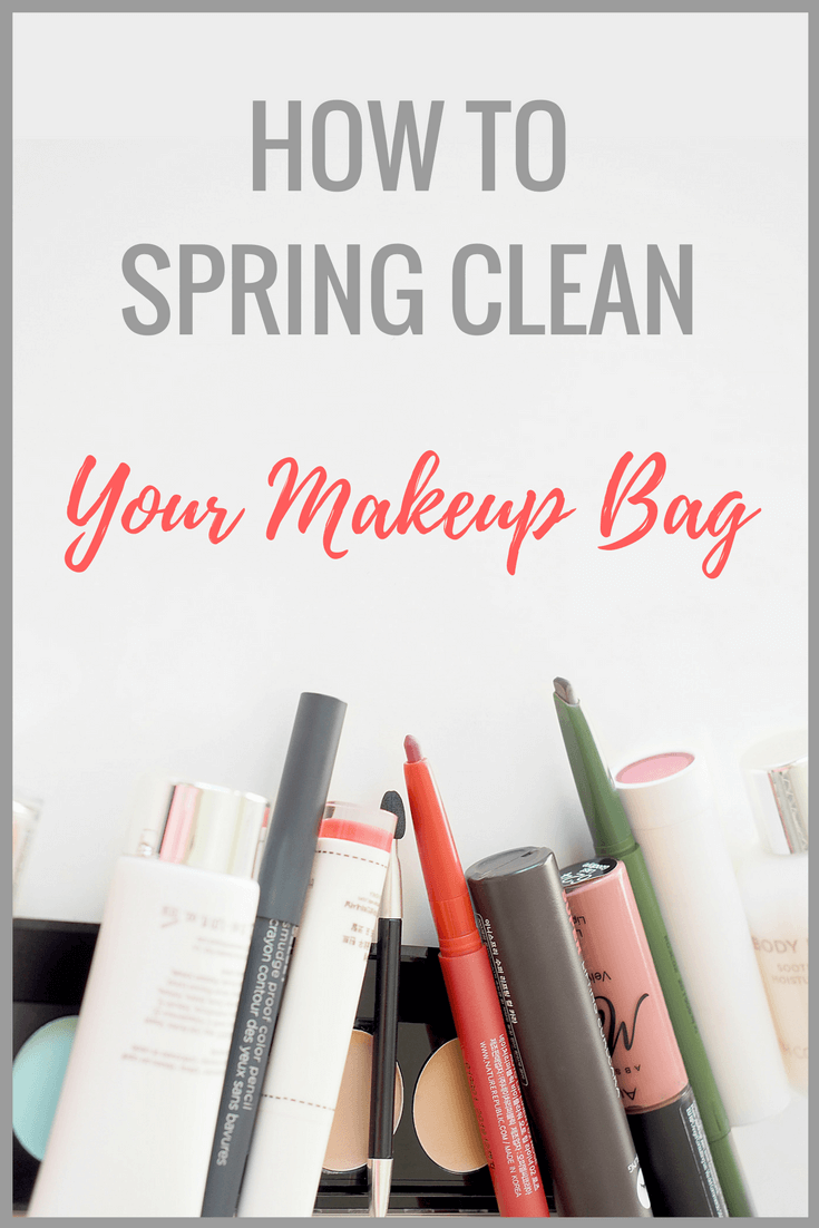 How to spring clean your makeup bag. #beauty #makeup