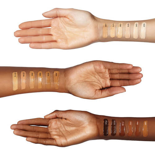 cover fx foundation swatch
