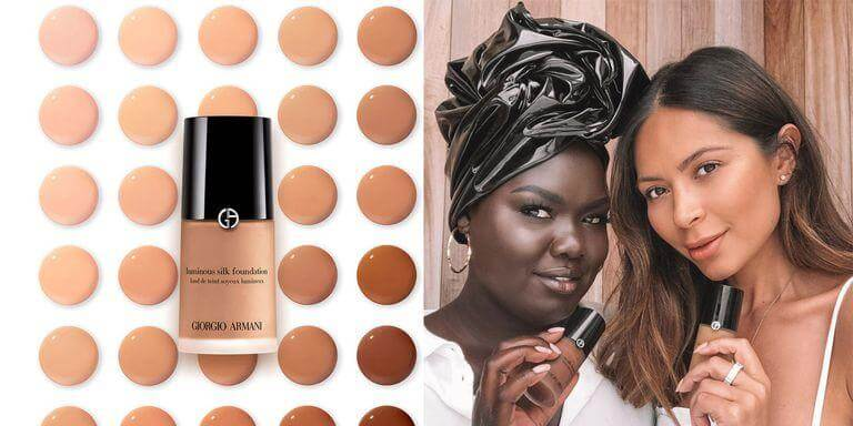 Giorgio Armani's Luminous Silk Foundation Gets More Deep Shades