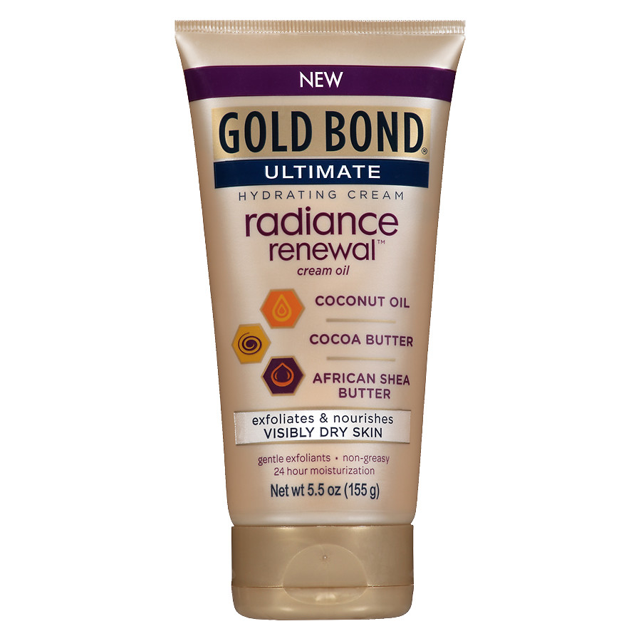 body care - gold bond ultimate radiance renewal cream oil