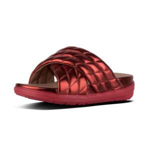 FitFlop Loosh Leather Slides