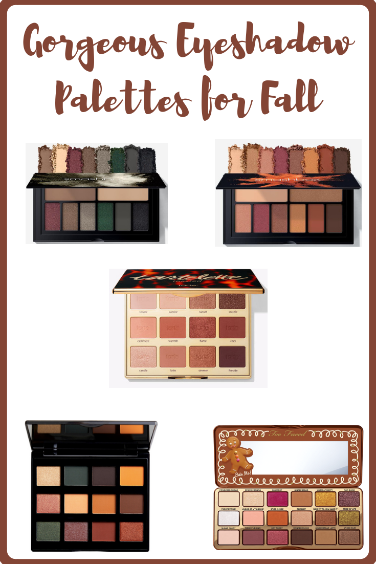 Gorgeous Eyeshadow Palettes for Fall. Create stunning eye looks for autumn and for the holidays with these beautiful palettes.