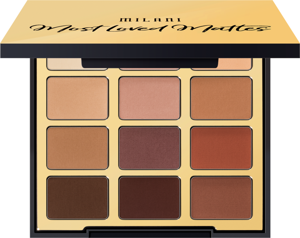 milani most loved mattes eyeshadow for fall