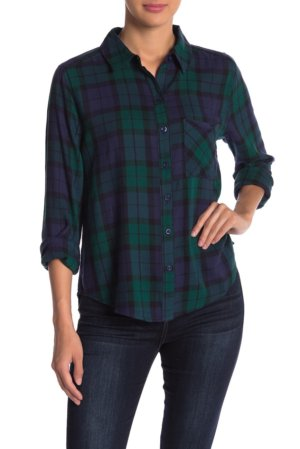 Abound Plaid Button Down Shirt