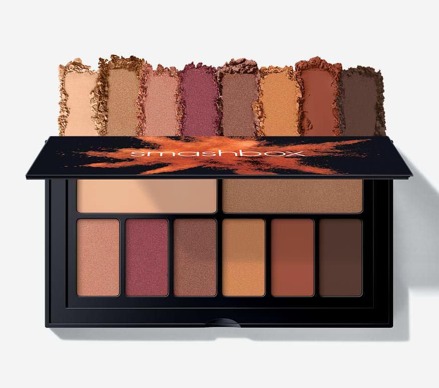 smashbox cover shot palette ablaze