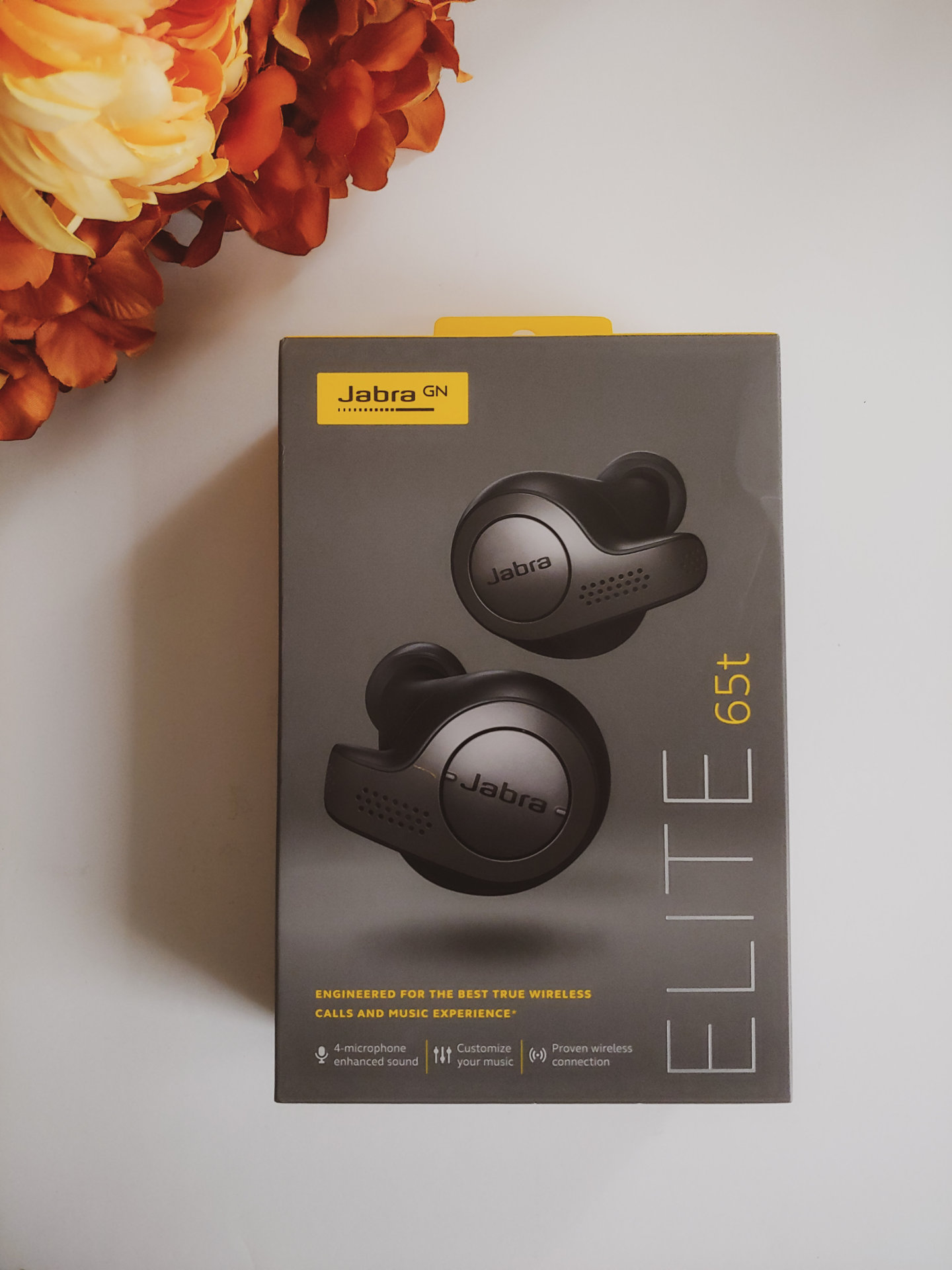 The Jabra Elite 65t True Wireless Earbud Headphones are perfect for music lovers and Chatty Cathys!