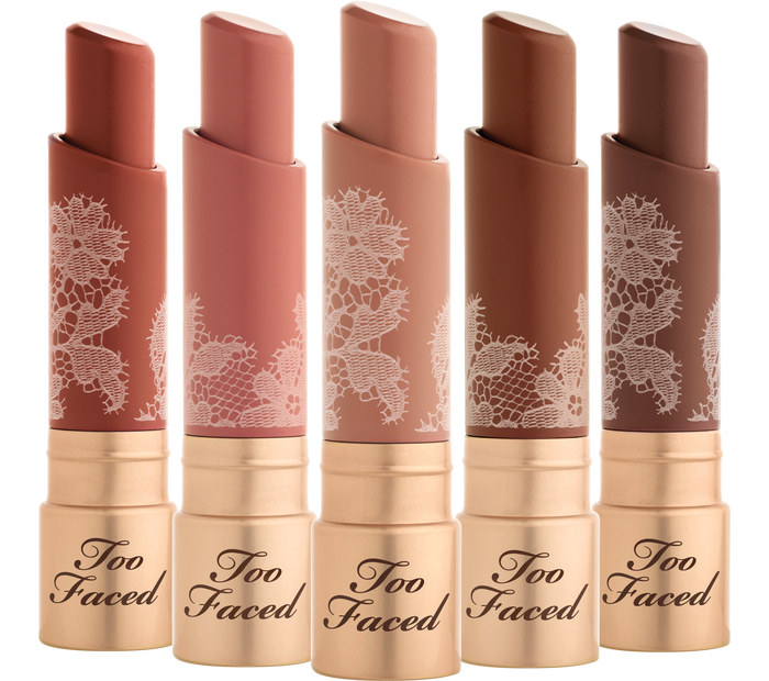nude lipstick collection by Too Faced