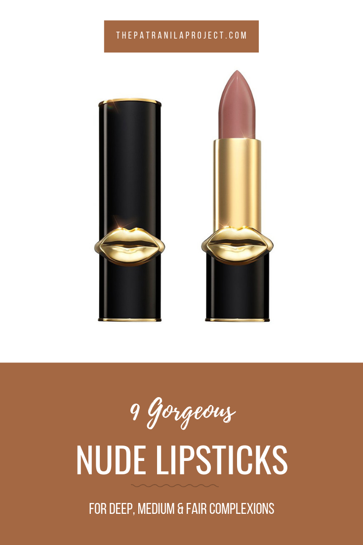 Jaclyn Hill's new nudes collection was a bust, but here are nine gorgeous, deeply pigmented nude lipsticks for deep, medium, and fair complexions. #beauty #lipstick #nude