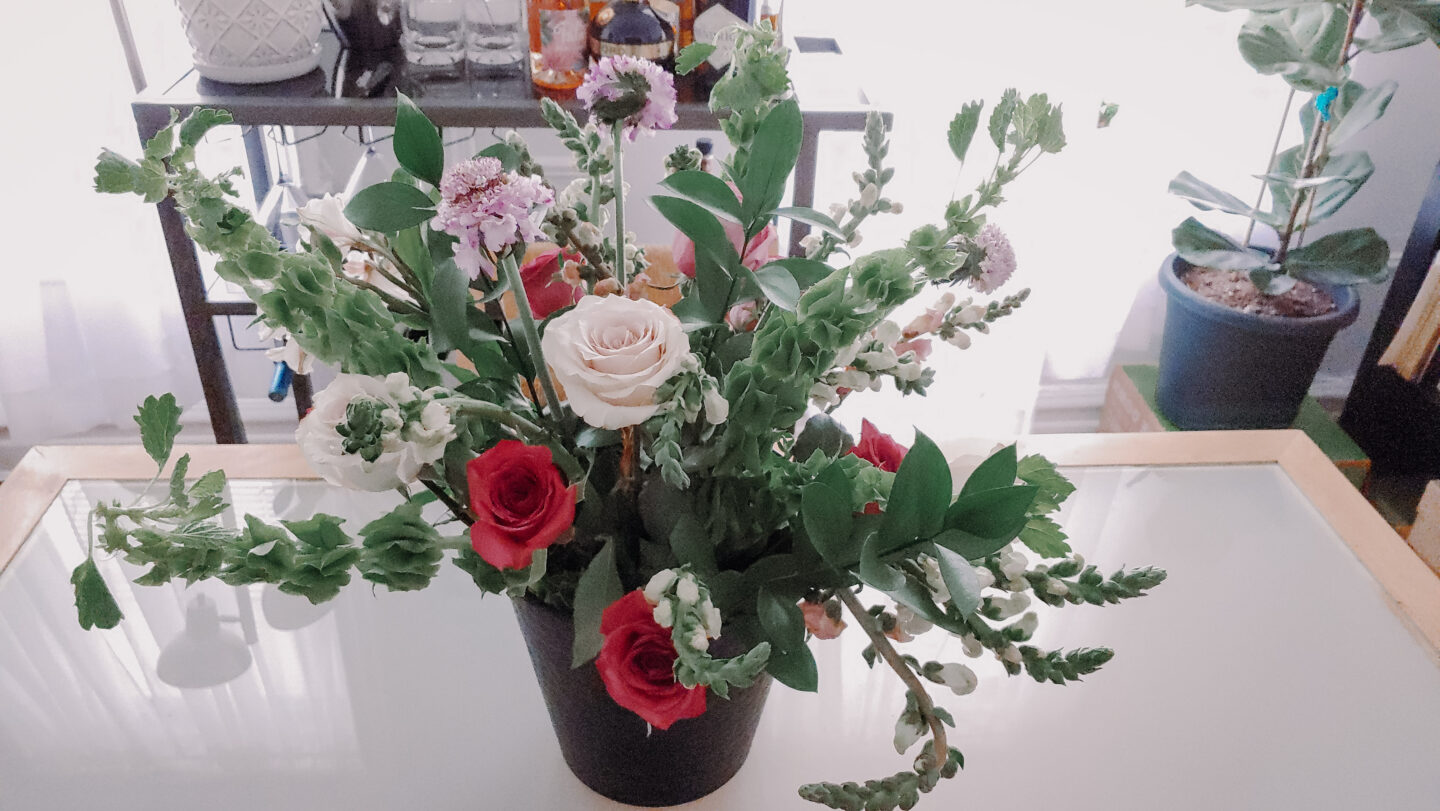 build your own bouquet of wild flowers with UrbanStems flower delivery