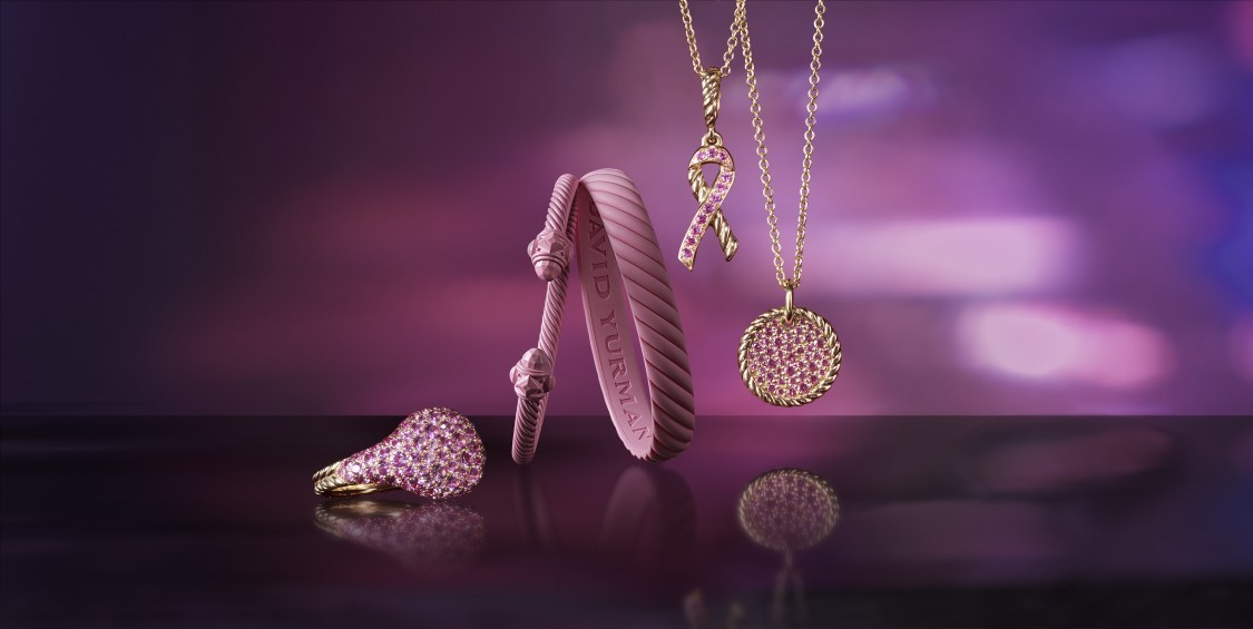 david yurman breast cancer awareness jewelry collection