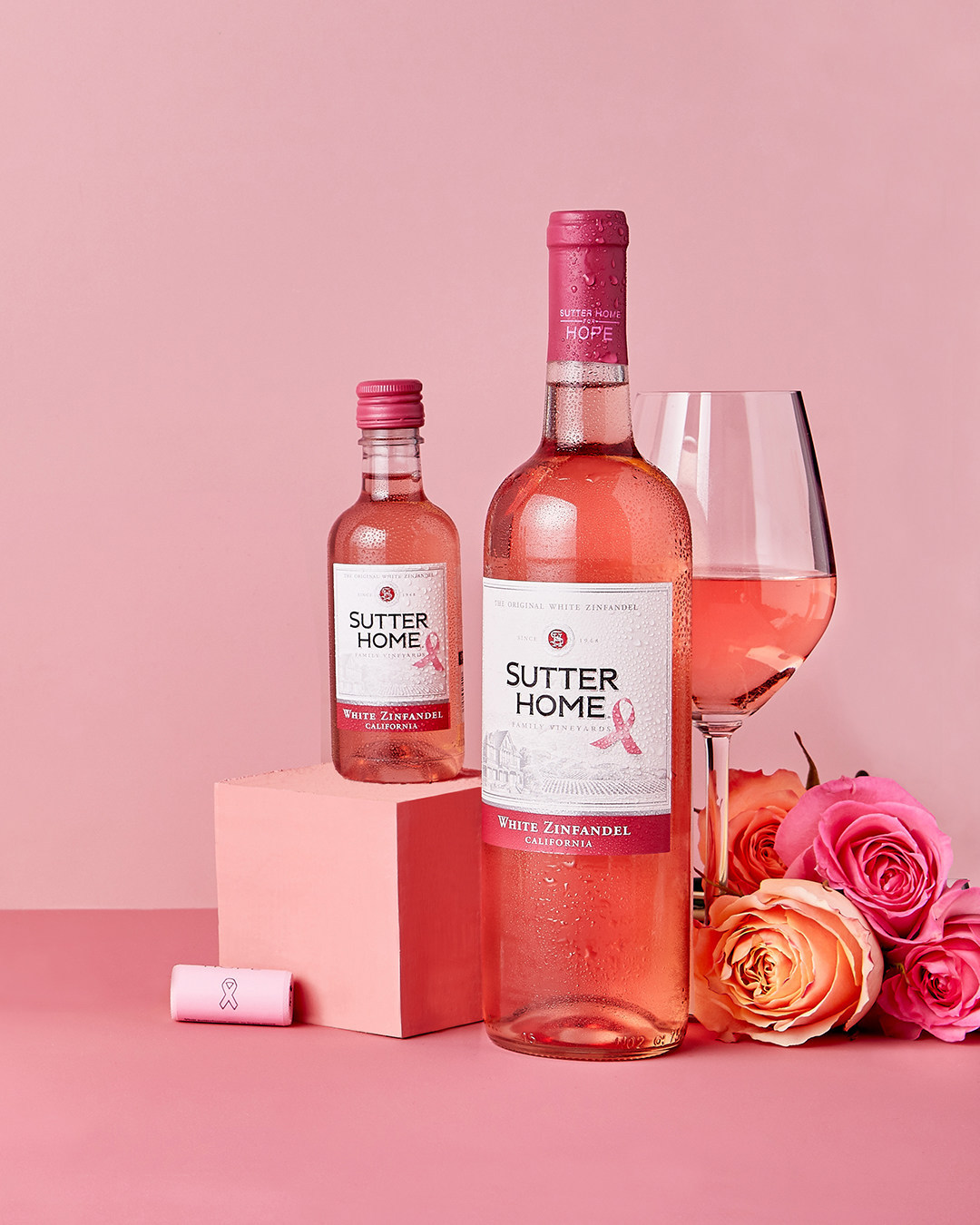 sutter home white zinfandel breast cancer awareness edition